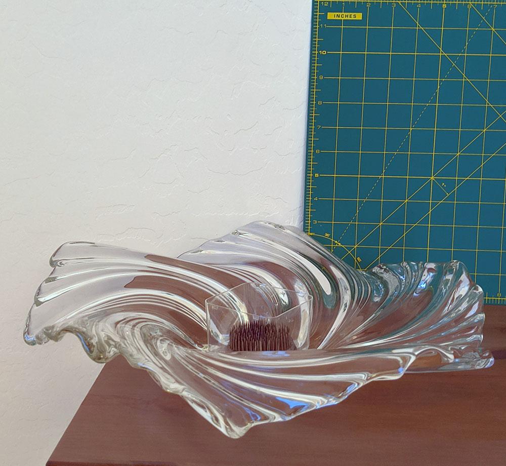 DV025 Glass W Kenzan